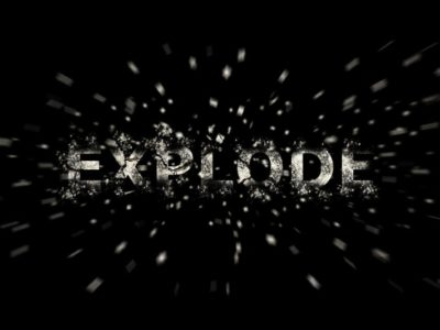 Exploding Text